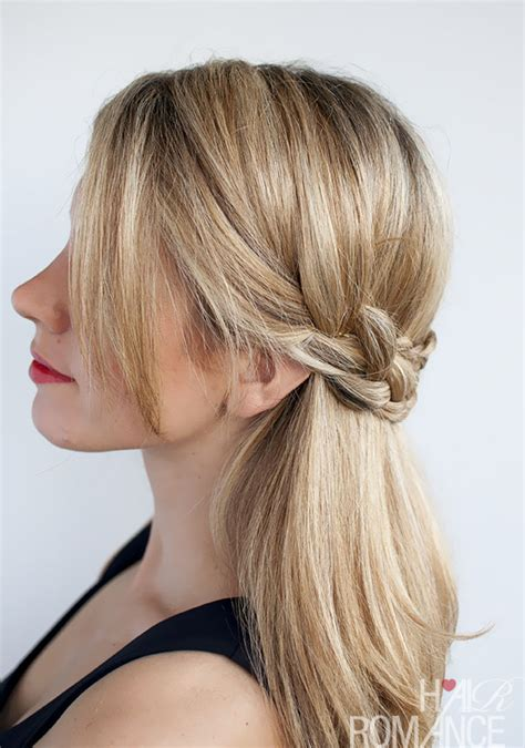 hairstyle tutorial half crown braid hair