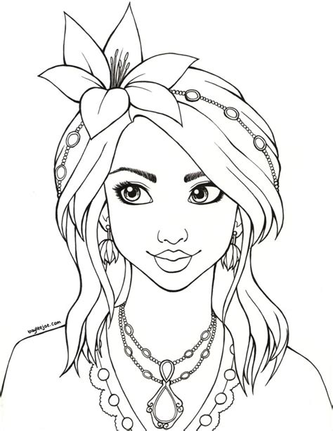 sheenacolouringpage coloring pages ladies coloring