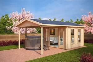 Gartenhaus Mit Terrasse : gartenhaus des monats gartenhaus mit terrasse nora e hansagarten24 ~ Whattoseeinmadrid.com Haus und Dekorationen