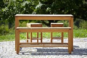 garten bartisch quotariosoquot allnaturade With französischer balkon mit garten bartisch