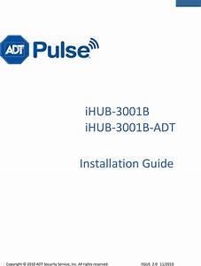 Icontrol Networks Ihub3001b Home Monitoring Gateway User