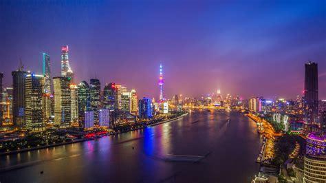shanghai huangpu river lujiazui night view preview