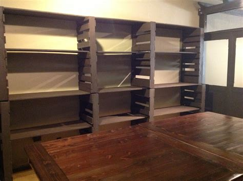 Garage Shelving Projects by Pallet Shelves Pallet Creations Pallet Furniture