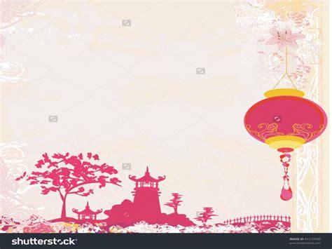 landscape  chinese lanterns vintage japanese style
