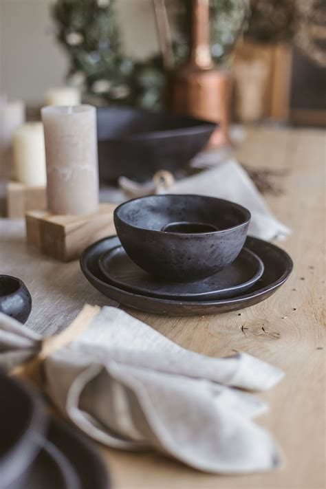 Product Of The Week Minimalist Plate Set From Metaphys by Ceramic Dinnerware Set Pottery Dinner Set Stoneware