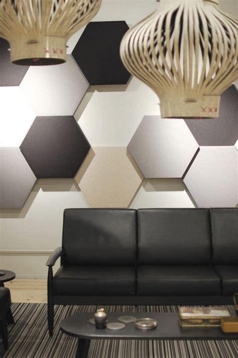 panneau acoustique decoratif en  designs mur  plafond