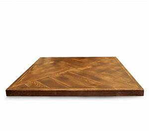 Walnut parquet table top style matters for Parquet top