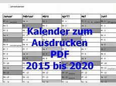 Kalender zum Ausdrucken Download Freewarede