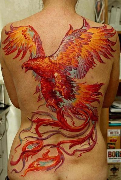 unique phoenix tattoos designs  girls