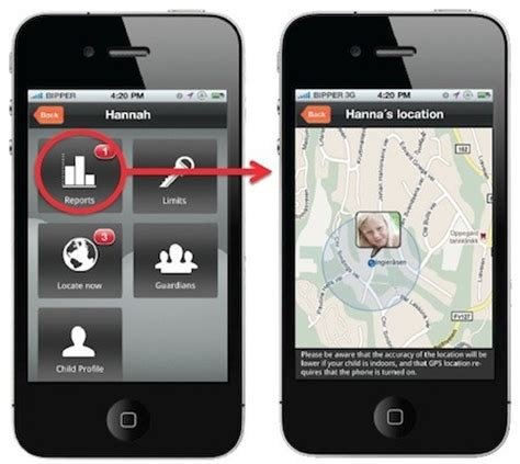 can an iphone be tracked parent iphones can track non iphones with mobilekids