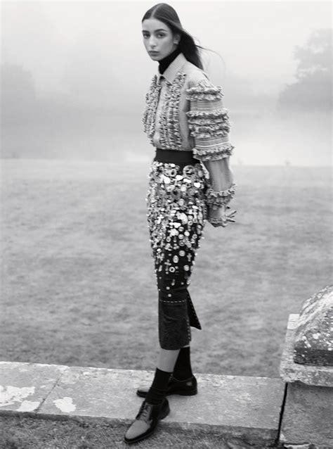 vogue uk february   karim sadli fashion editorials