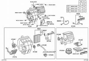 2007 Toyota Highlander Hvac System Wiring Harness  Harness