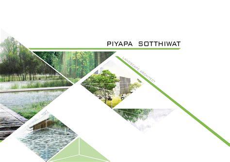 Piyapa's Landscape Architecture Portfolio 2015 By Pselevin