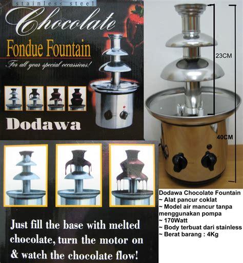 jual dodawa chocolate fountain jual cokelat fountain
