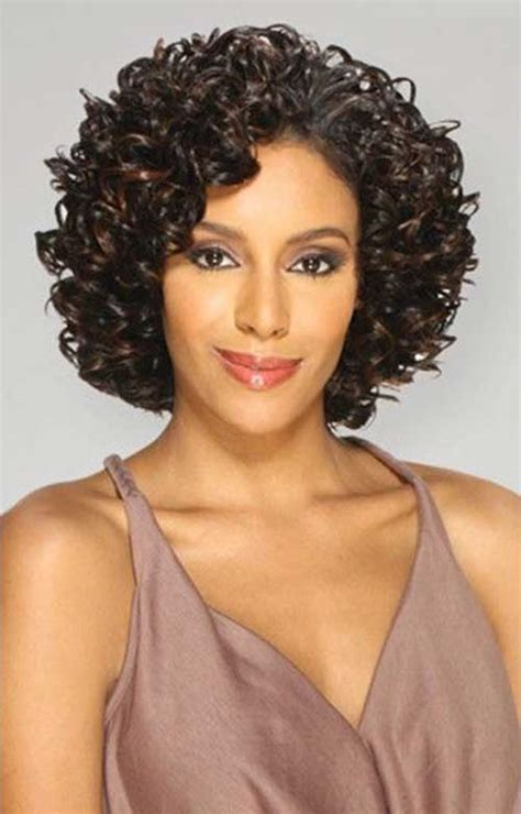 20 short curly weave hairstyles short hairstyles haircuts 2018 2019