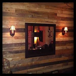 Pallet As Wall Decoration • 1001 Pallets