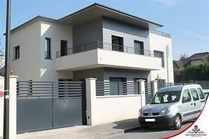 Cloture Maison Moderne : cloture facade maison top cloture facade maison latest ~ Melissatoandfro.com Idées de Décoration
