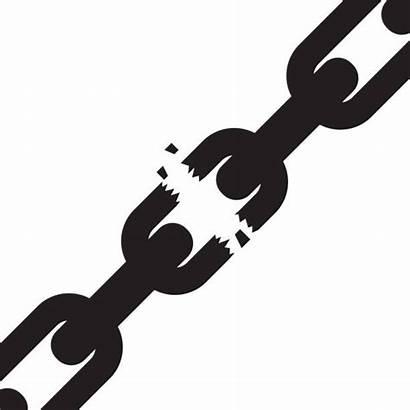 Chain Broken Vector Clip Clipart Illustration Illustrations