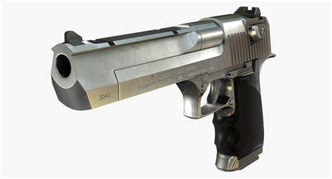 3d Model Imi Desert Eagle 50ae