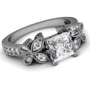 jb pics info katya apexwallpapers - Vintage Princess Cut Engagement Rings