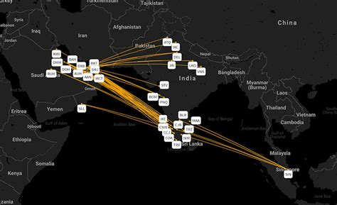 Air India Express: only carrier on 38% of international ...