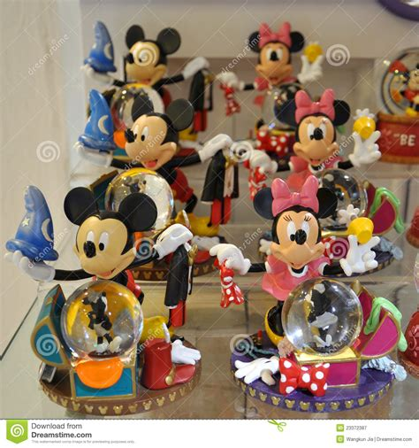 Mickey And Minnie Decorations - mickey and minnie mouse decoration editorial photography