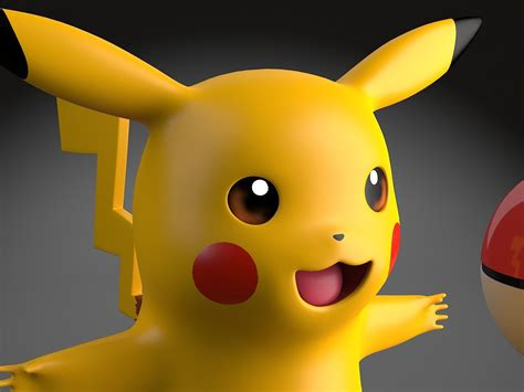 pikachu pokemon rigged