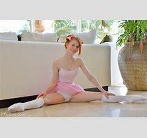 Cute Redhead Ballerina