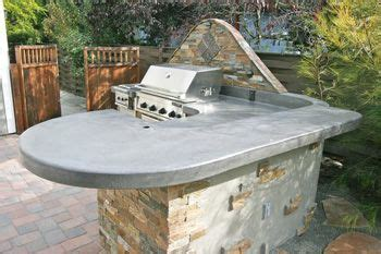 how to make a concrete sink for kitchen 50 best outdoor countertops images on outdoor 9785