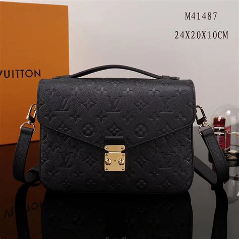 aaa replica designer lv louis vuitton pochette metis shoulder bags leather monogram