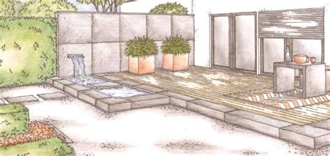 Garten Im Quadrat  Gartenplanung Online