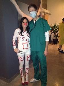 Halloween Paar Kostüme : operation game halloween costume halloween ~ Frokenaadalensverden.com Haus und Dekorationen