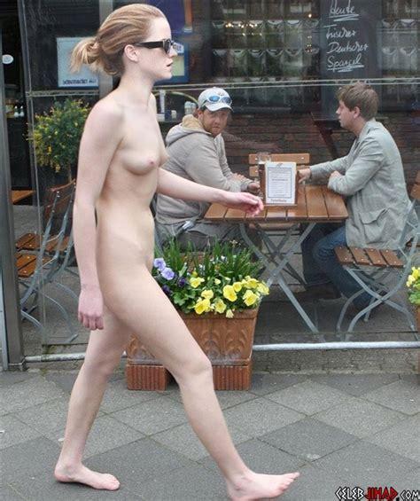 Emma Watsons Shocking Nude Feminist Protest