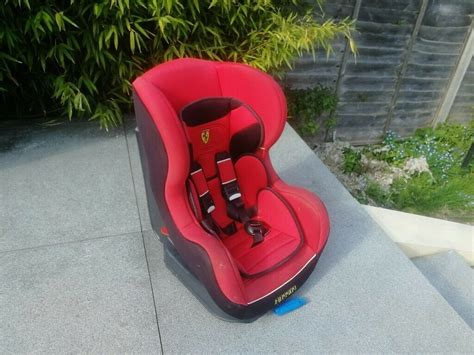 Post your items for free. Baby car seat, ferrari branding! | in Enfield, London ...