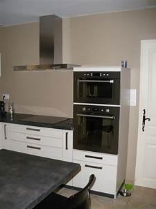 cuisine beige quelle couleur pour les murs With idée décoration mur de cuisine