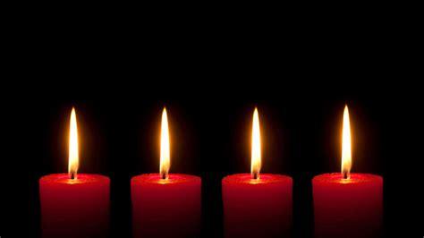 So Brennen Alle Adventskranzkerzen Gleichmäßig Ab