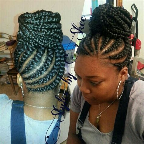 micro braids hairstyles for black women braided hairstyle