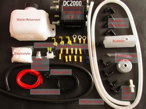 Save Fuel. Hho-plus Dc2000 Dry Cell Hho Kit. Uk