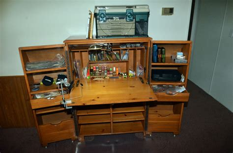 Fly Tying Desk Top Plans by Desk 4 Hatches Fly Tying Magazine
