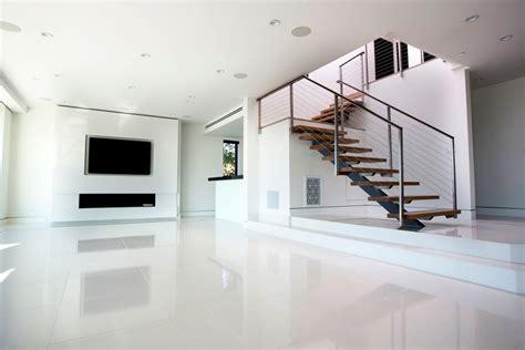 floor l living room living rooms with white tile floors living room