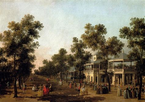 vauxhall gardens view of the grand walk vauxhall gardens with the