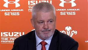 Wales v Tonga - Warren Gatland & Ellis Jenkins Post Match ...