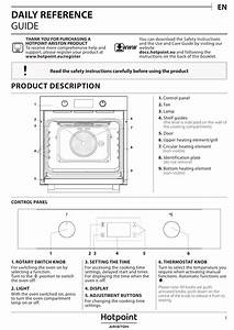 Hotpoint Fa5 841 Jh Bl Ha Setup And User Guide