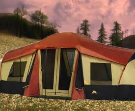 3 Man Tent With Porch by Ozark Trail 3 Room Tent Part 1 Youtube