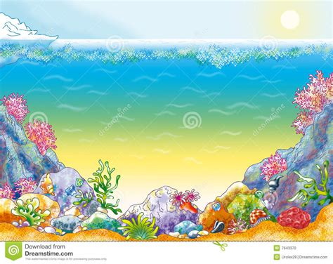 Ocean Scenery Clipart