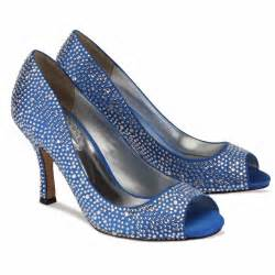 blue shoes for wedding wedding by designs royal blue wedding shoes cinderella style