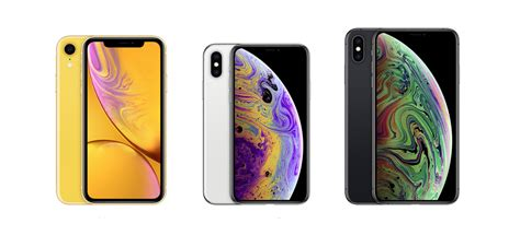 iphone xr vs iphone xs vs iphone xs max specifications