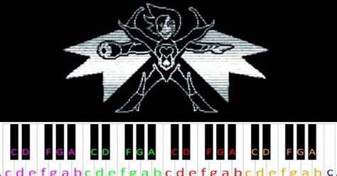 Power of NEO (Undertale) ~ Piano Letter Notes