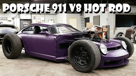 custom hot rod porsche 911 964 v8 build badass rat rods