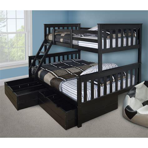 bunk beds versaloft mission bunk bed bunk beds